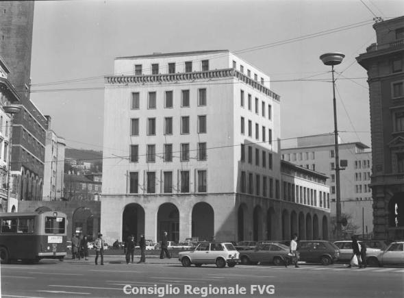 Palazzo della regione a Trieste