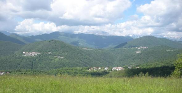 In direzione Oblizza, Dughe e Tribil Superiore dal Kalus, 22 maggio 2013